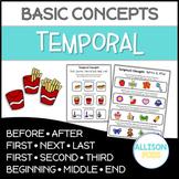 Temporal Concepts Pages NO PREP