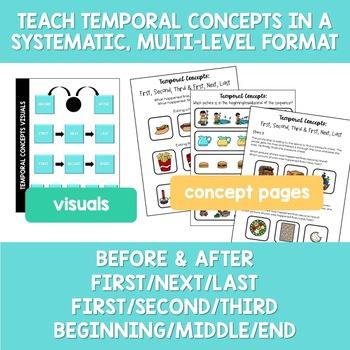 Temporal Concepts NO PREP Speech Therapy
