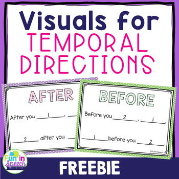 Temporal Direction Visuals FREEBIE