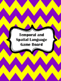 Temporal and Spatial Language Board Game