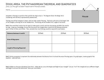 Problem Solving, Algebra and Geometry Challenge