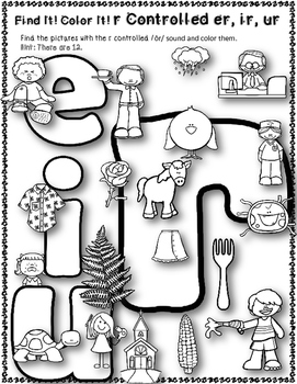 Dollar Deal! r-Contolled {er, ir, ur} Words Task Cards, Scoot and More!