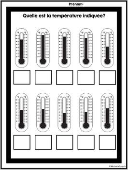 Température - French Weather unit