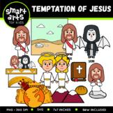 Temptation of Jesus Clip Art