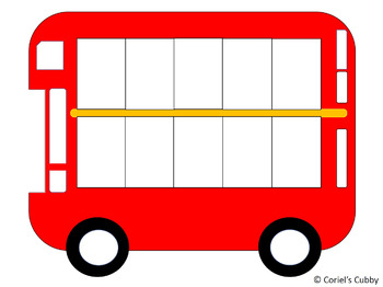 graphic about Printable 10 Frame identified as 10 (10) Body Bus - Totally free PRINTABLE - MATH 10 Body