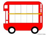 Ten (10) Frame Bus - FREE PRINTABLE - MATH 10 Frame