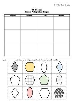 2D Shape activities