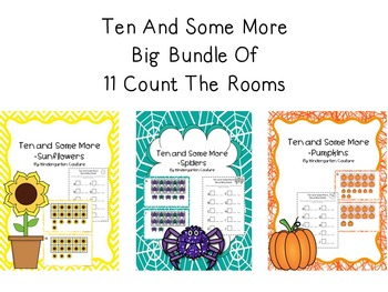 Ten And Some More -BIG BUNDLE  11 Count The Rooms