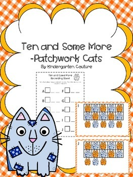 Ten And Some More Count The Room -Patchwork Cats