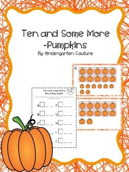 Ten And Some More Count The Room -Pumpkins (October/November)