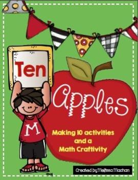 Ten Apples {Making Combinations of 10}