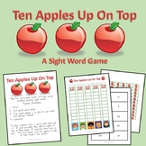 Ten Apples - Sight Word Game