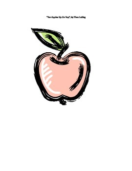 Ten Apples Up On Top Activities