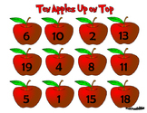 Ten Apples Up On Top Counting Mat