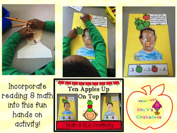 Ten Apples On Top: ELA & Math Craft