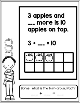 Ten Apples Up On Top Making Ten Booklet