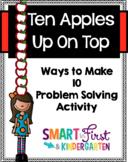 Ten Apples Up On Top Making Ten Booklet