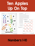 Ten Apples Up On Top: Counting Numbers 1-10 Activities