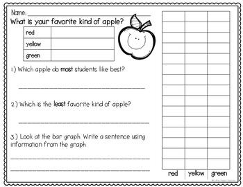 Ten Apples Up On Top - Math Literacy Writing STEM - Fall - Dr. Seuss