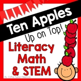 Ten Apples Up On Top - Math Literacy Writing STEM - Fall -