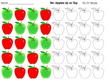 Ten Apples Up On Top Patterns