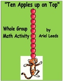 """Ten Apples Up on Top"" Whole Group Math Activity"