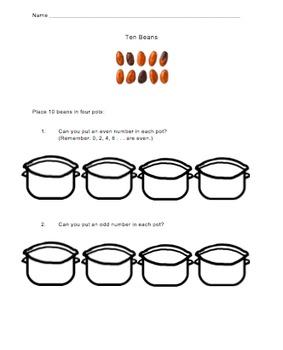 Ten Beans Activity