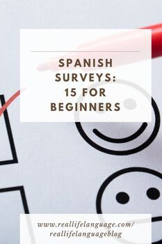 Fifteen Beginning Spanish Surveys