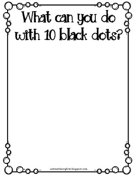 Ten Black Dots Book Extension