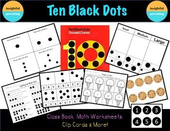 Ten Black Dots: Math Worksheets & Activities