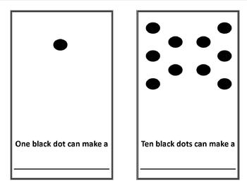 Ten Black Dots Reproducible Activity