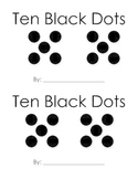 Ten Black Dots Subitizing Mini-Book