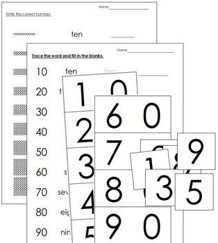Ten Boards, Beads, and Worksheets