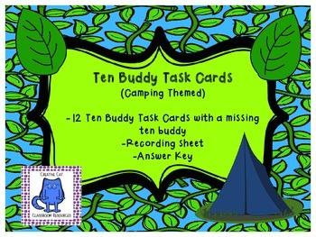 Ten Buddy Task Cards