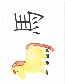 Ten Chinese Radicals with Pictures