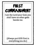 Ten Commandment Posters