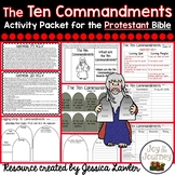 Ten Commandments Activities (Protestant)