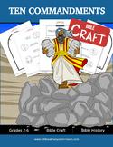 Ten Commandments Bible Craft