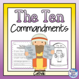 Ten Commandments - Catholic {Heaven's Little Helper}