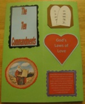 Ten Commandments Catholic Lapbook