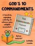 Ten Commandments Flipbook {Catholic Version}