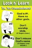 """Ten Commandments """"Look n' Learn"""" Video"""