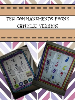 Ten Commandments Phone Catholic Version