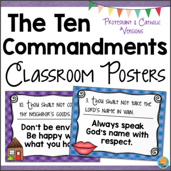 graphic about 10 Commandments Poster Printable referred to as 10 Commandments Posters Worksheets Instructors Shell out Academics