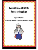 Ten Commandments Project for Elementary Students