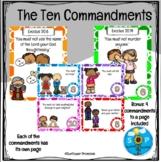 Ten Commandments Scripture Cards