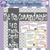 Ten Commandments {42 Task Cards & more}