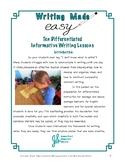 Ten Differentiated Informative Writing Lessons