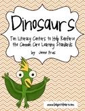 Ten Dinosaur Literacy Centers to Reinforce Common Core Standards