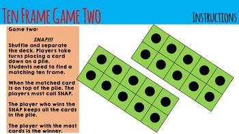 Ten Fames - Games & Flash cards